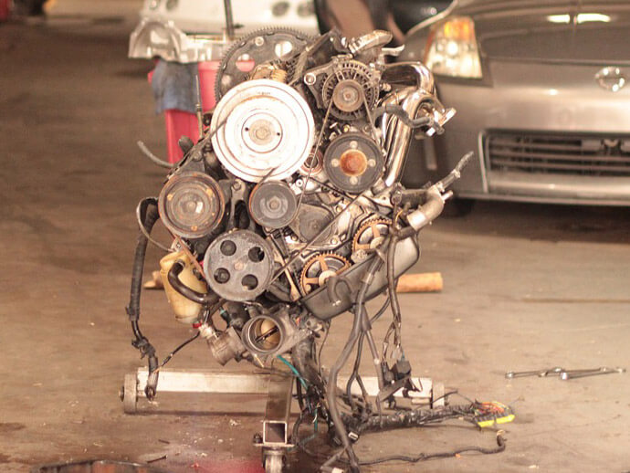 What happens if you put too much engine oil in your car
