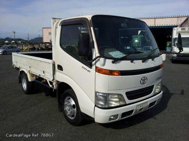 2000 Nov Used Toyota Dyna Dyna Kk Xzu306 Engine Type