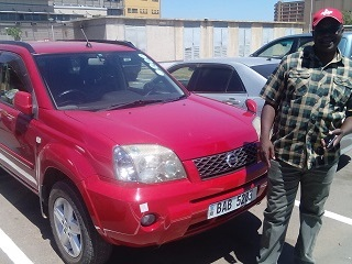 Customer who purchased a car from SANWA JAPAN CARS